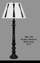 Jeanne Reed's - Chinoiserie Buffet Lamp - wood