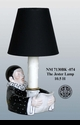 """Jeanne Reed's - """"The Jester"""" Lamp - Black"""