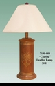 """Jeanne Reed's - """"Charing"""" Leather Lamp"""