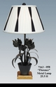 """Jeanne Reed's - """"Florence"""" Metal Lamp"""