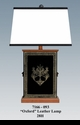 """Jeanne Reed's - """"Oxford"""" Leather Lamp"""