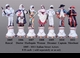 Jeanne Reed's - Set of 7 Actor Figures