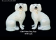 Jeanne Reed's - Dog Pair - white