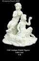 """Jeanne Reed's - Figures w/goat """" Antique Finish"""""""