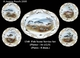 Jeanne Reed's - Fish Plates / Set of 5