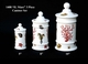 """Jeanne Reed's - """"IL Mare"""" 3 pc Canister Set"""