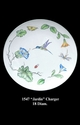 """Jeanne Reed's - """"Jardin"""" Charger"""
