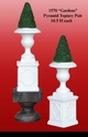 """Jeanne Reed's - """"Gardens"""" Pyramid Topiary Pair"""