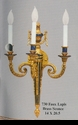 Jeanne Reed's - Sconce - lapis (faux)