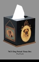 Jeanne Reed's - Tissue Box - dogs