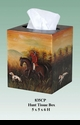 Jeanne Reed's - Hunt Tole Tissue Box