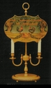 Jeanne Reed's - 1/2 Shade Lamp (tole, mustard)