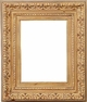 Wall Mirrors - Mirror Style #301 - 24x48 - Washed Gold
