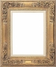 Wall Mirrors - Mirror Style #304 - 9X12 - Washed Gold