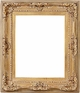 Wall Mirrors - Mirror Style #307 - 36x36 - Washed Gold