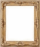 Wall Mirrors - Mirror Style #308 - 30x30 - Washed Gold