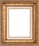 Wall Mirrors - Mirror Style #347 - 24X36 - Broken Gold
