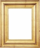 Wall Mirrors - Mirror Style #359 - 14X18 - Broken Gold