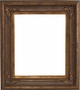Wall Mirrors - Mirror Style #369 - 36x36 - Dark Gold