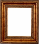 Wall Mirrors - Mirror Style #370 - 48x48 - Dark Gold