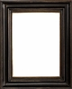 Wall Mirrors - Mirror Style #395 - 20x20 - Black & Gold
