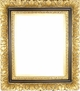 Wall Mirrors - Mirror Style #412 - 24X30 - Black & Gold