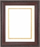 Wall Mirrors - Mirror Style #424 - 24X36 - Traditional Wood