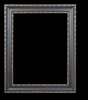 Art - Picture Frames - Oil Paintings & Watercolors - Frame Style #621 - 24x36 - Black & Gold - Black & Gold Frames