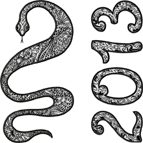 New Year Of Snake