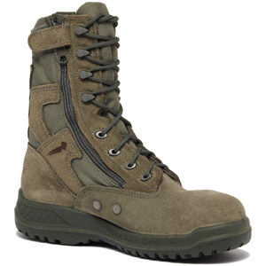 Belleville 610Z ST Hot Weather USAF Side Zip Steel Toe Tactical Boot