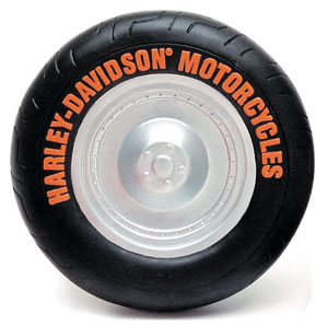 Harley-Davidson® Vinyl Tire Dog Toy