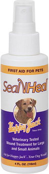 Happy Jack Seal 'N Heal Liquid Bandage Spray (4 oz.)