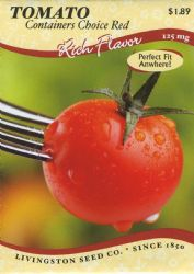 Containers Choice Red Tomato Seeds