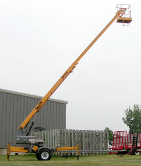 42' Towable Telecopic Boom