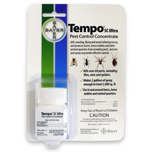 Tempo SC Ultra Pest Control Concentrate, Makes 2 gallons of spray
