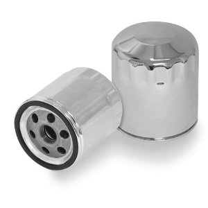 Biker's Choice Chrome Oil Filter For Harley Davidsons