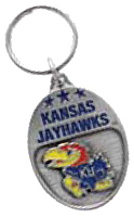 University of Kansas Jayhawks Key Ring