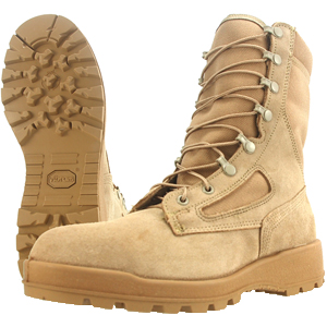Wellco T114 Tan Temperate Weather Combat Boot