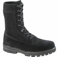 Bates E01421 Men's 9 in US Navy Suede DuraShocks Steel Toe Boot