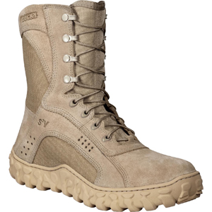 Rocky S2V Vented Desert Tan Military Duty Boot (105)