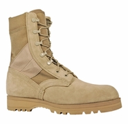 McRae 3187 Mil Spec Desert Tan Hot Weather Boots