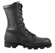 McRae 6189 Men's All Leather Black Military Boot