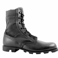 McRae 9189 Men's Hot Weather All Black Jungle Boot w Panama Outsole