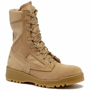 Belleville 340 DES ST Tan Hot Weather Steel Toe Flight Boot