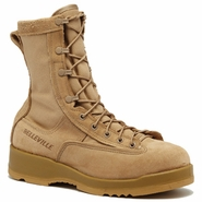 Desert Tan Military Boots on Sale - Free Size Exchanges