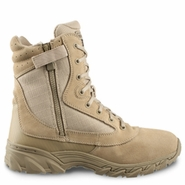 Original SWAT 1312 Chase Desert Tan Tactical Side Zip Boot