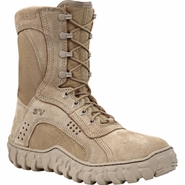 Rocky S2V Vented Desert Tan Military Boot with Superfabric Instep (101)