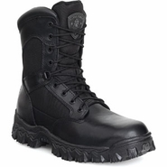 Rocky AlphaForce Zipper Waterproof Black Duty Boot (2173)