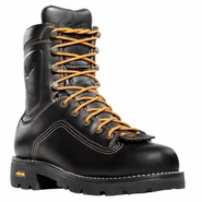 Danner 14547 Quarry Plain Toe Black Work Boot
