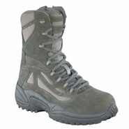 Reebok RB8990 Men's Rapid Response USAF Composite Toe Side Zip Sage Green Boot